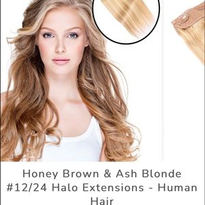 Brand new halo hair extensions